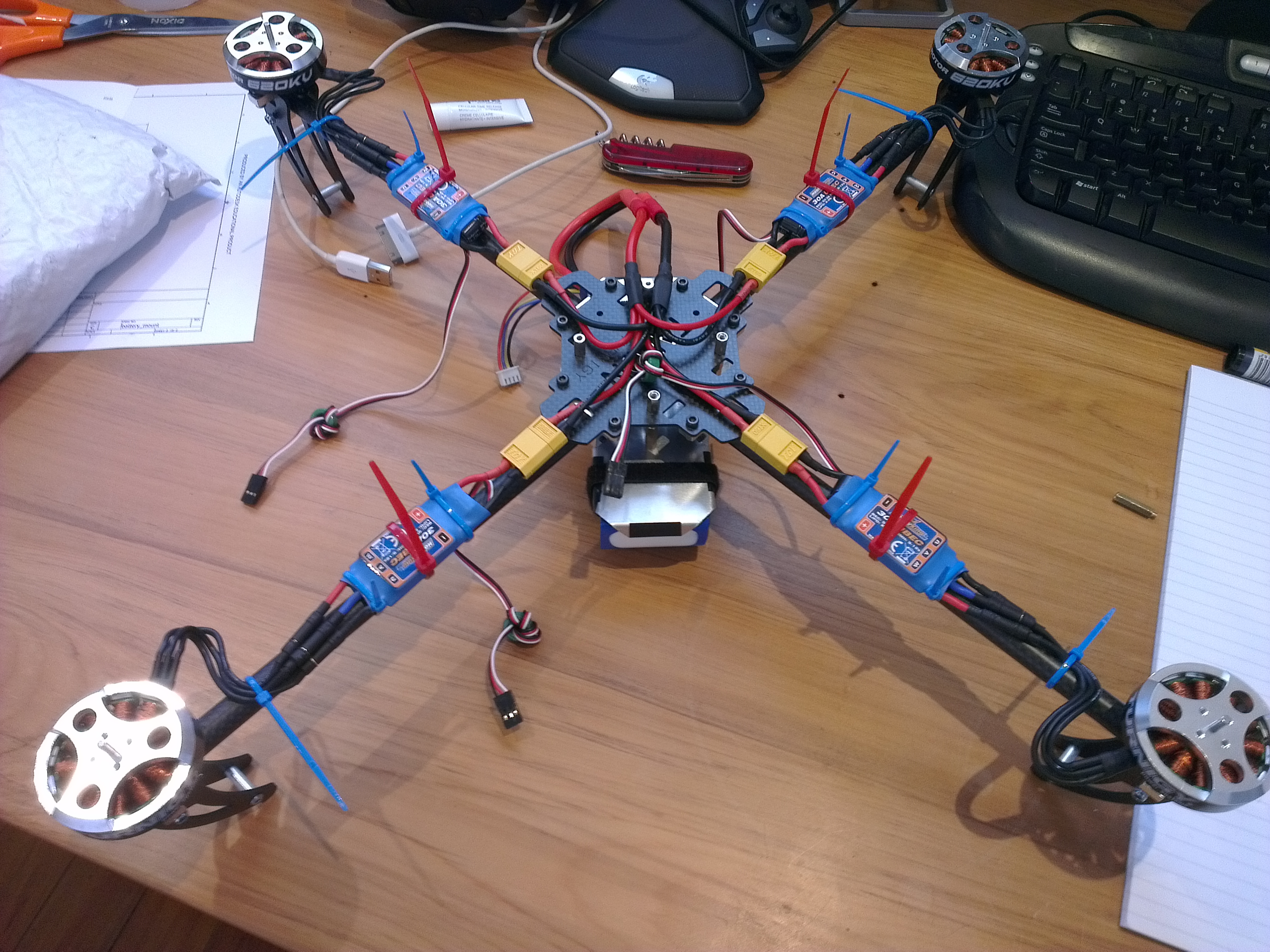 Wiring a quad copter diagram images
